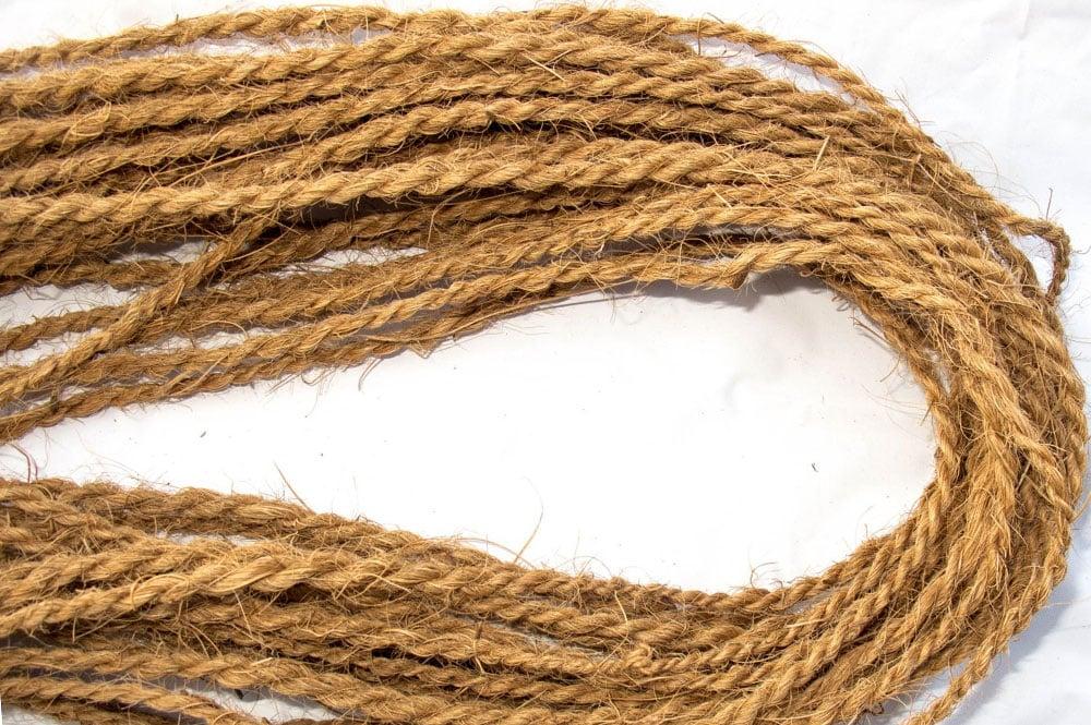Cordelettes en fibres de coco