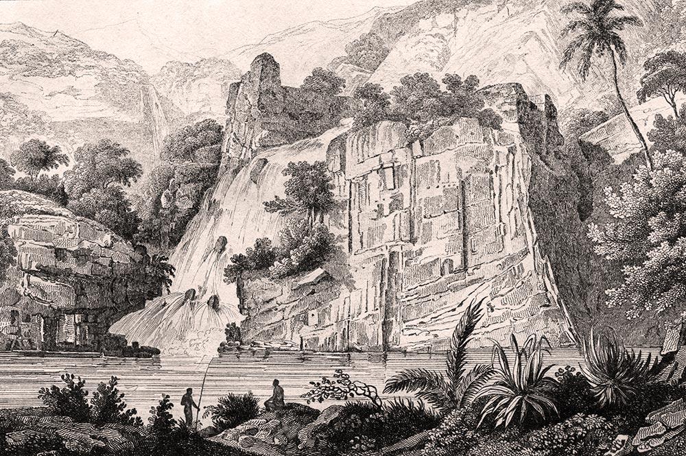 Piha malle. Louis Domeny de Rienzi. L'Univers, Océanie ou cinquième partie du monde, 1836