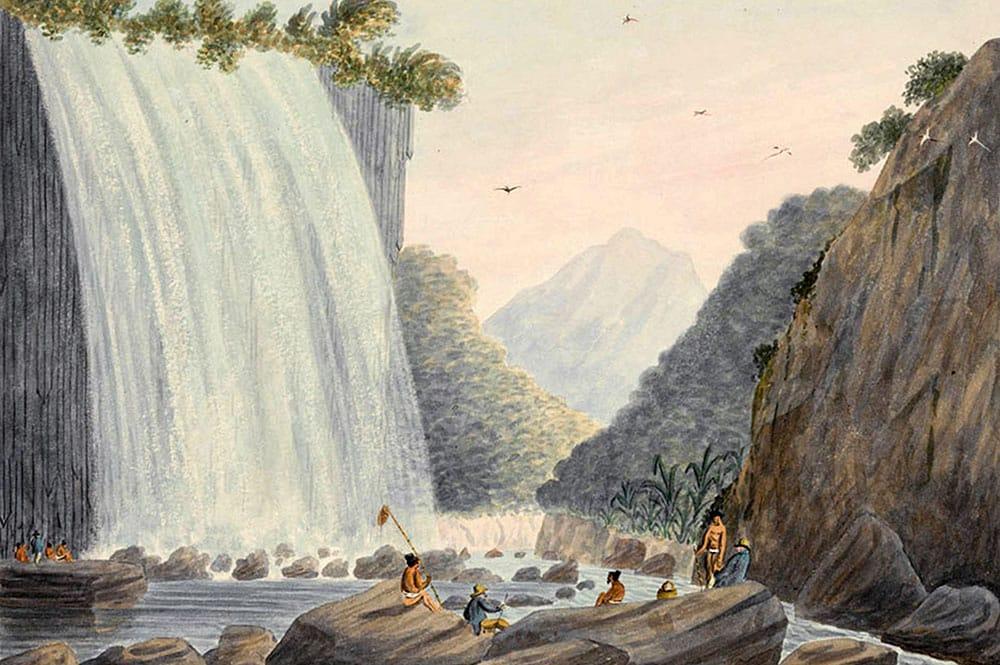 George Tobin, 179 .On Matavai River Otahytey