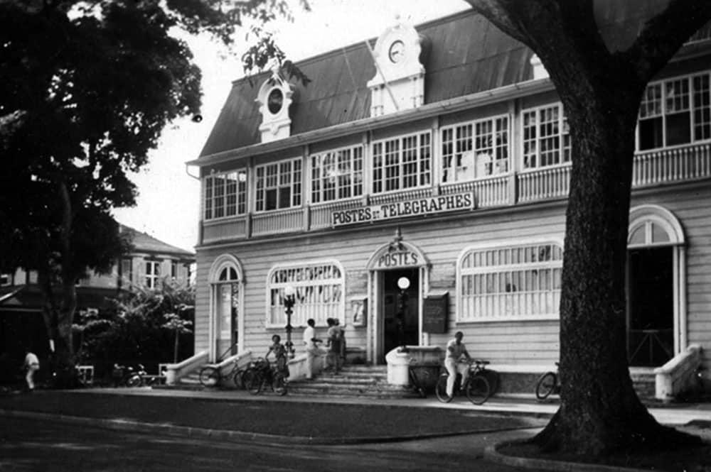 L'Hôtel des Postes de Papeete en 1939