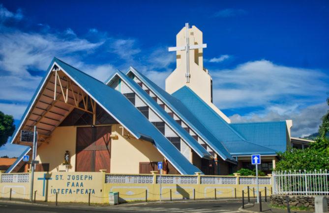 Eglise Saint-Joseph de Faa'a, Tahiti