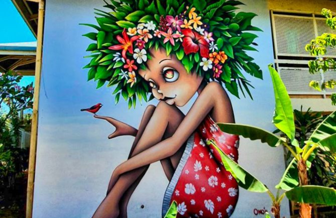 Street art Vinie